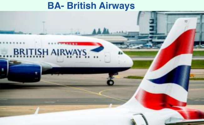 BA full form- British Airways