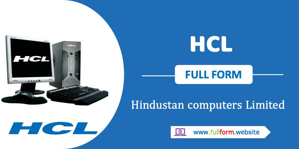 HCL full form