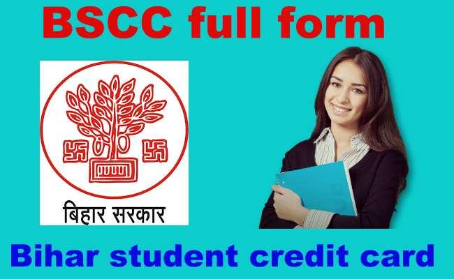 BSCC Full Form