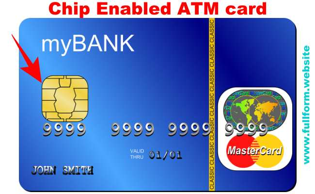 Chip ATM Card