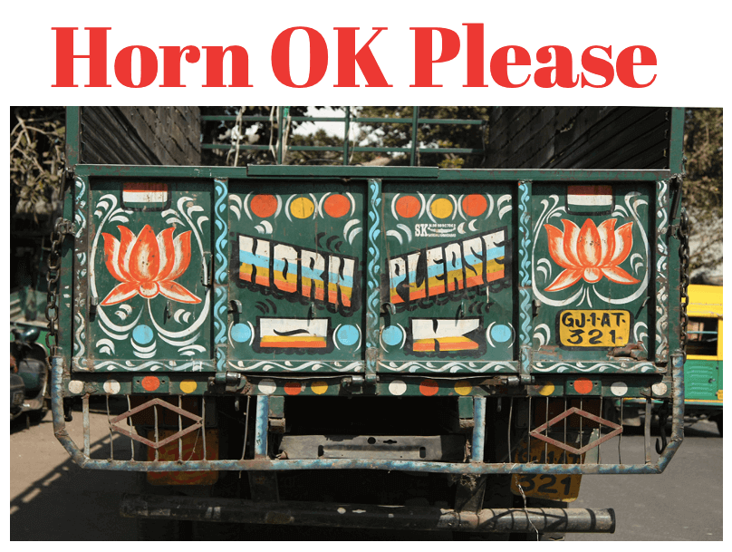 Horn OK Please