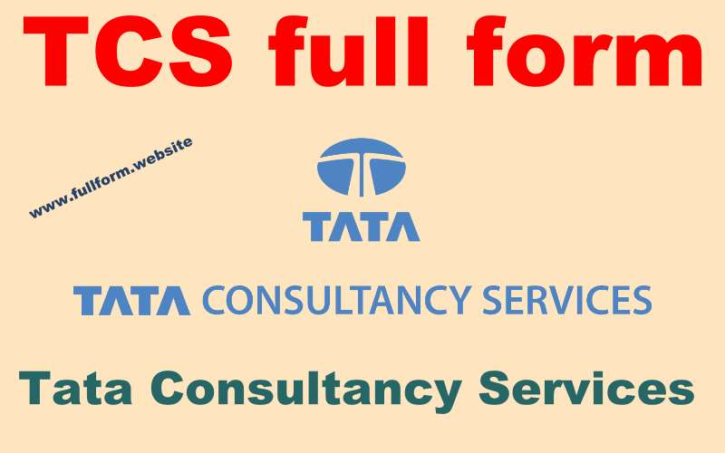 TCS full form
