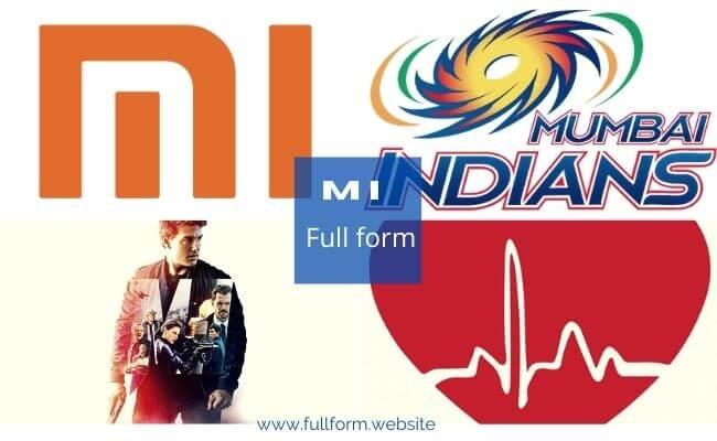MI full forms