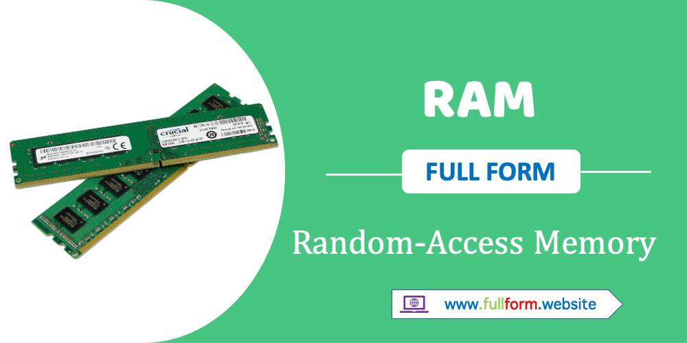 RAM full form