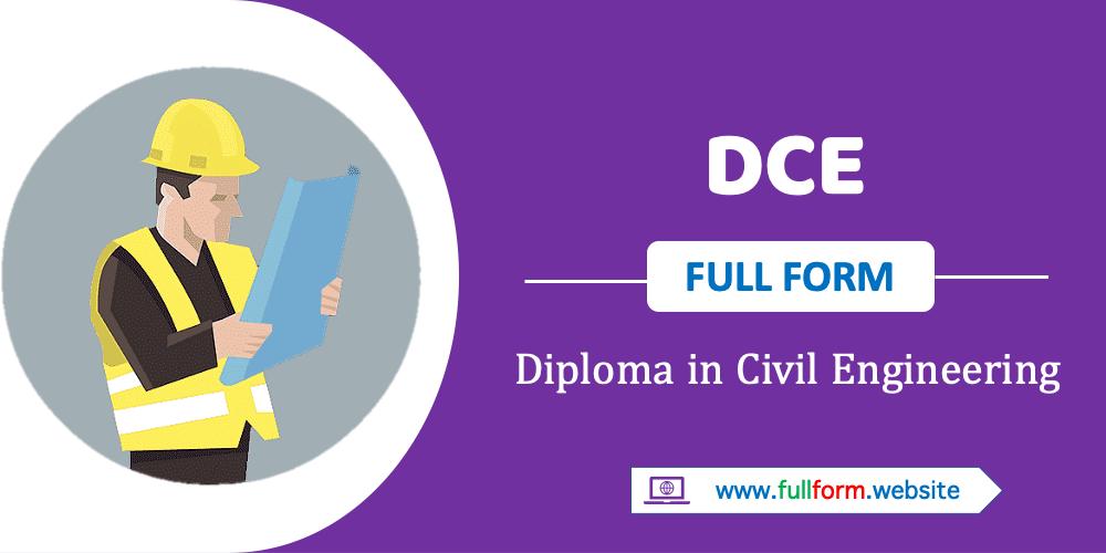 DCE full form