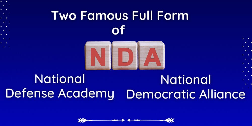 NDA full form