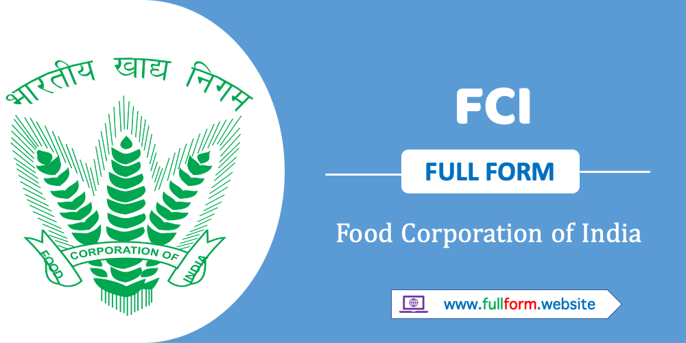 fci full form