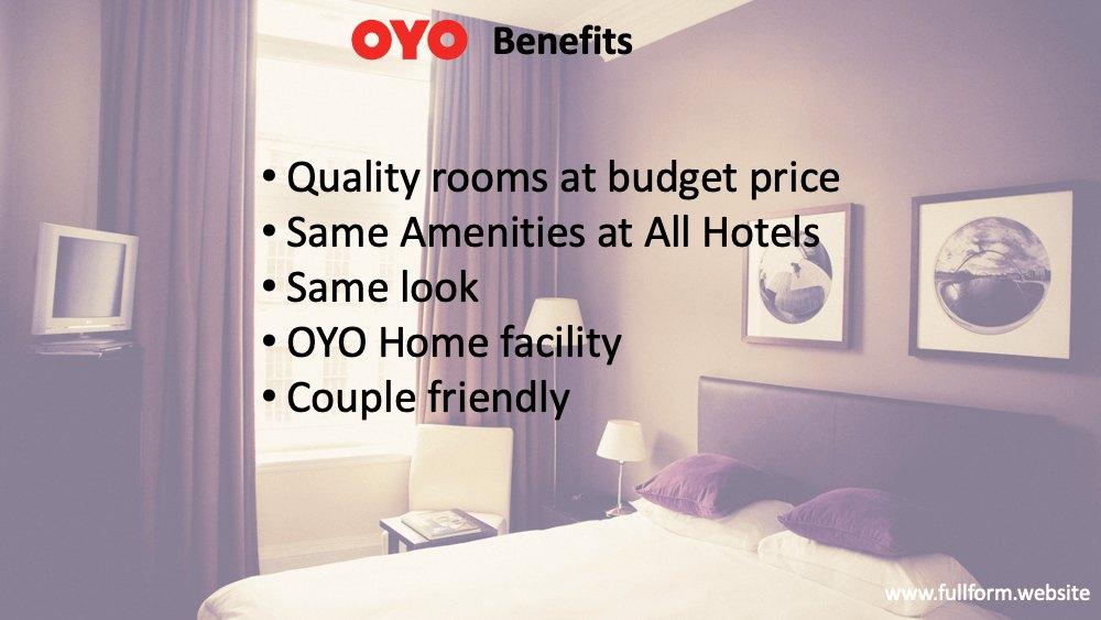 OYO Benefits