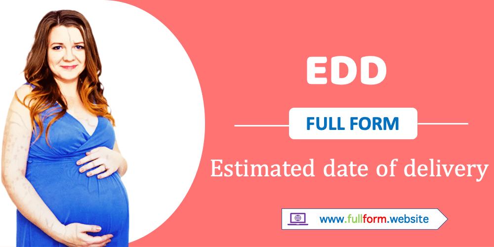 EDD full form