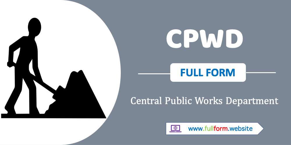 CPWD full form