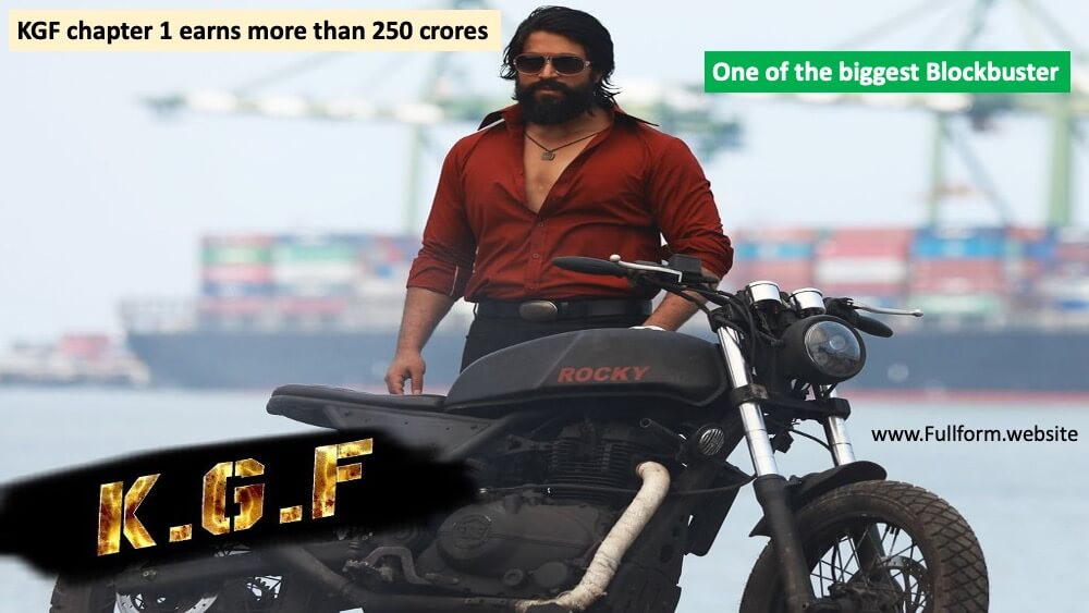 KGF movie full form